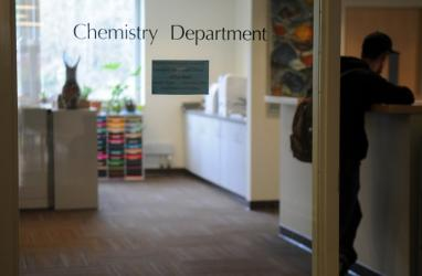 photo of chemistry department office