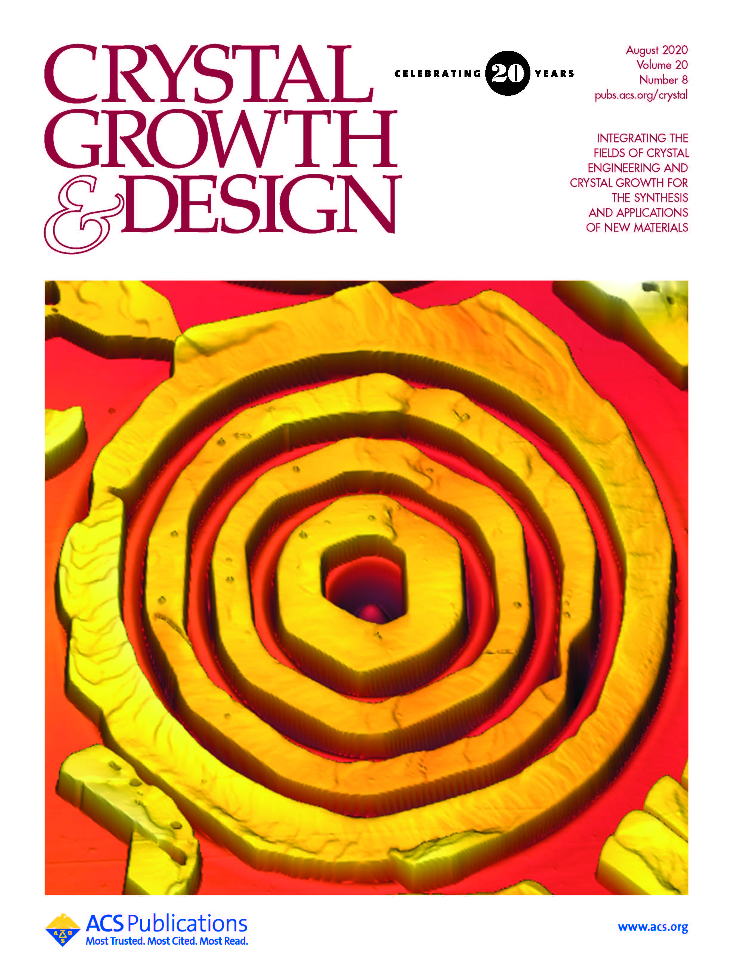 Crystal growth and design cover